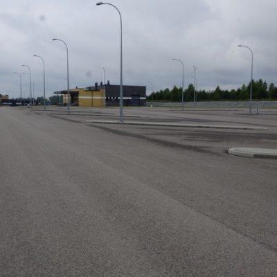 budowa przejścia granicznego