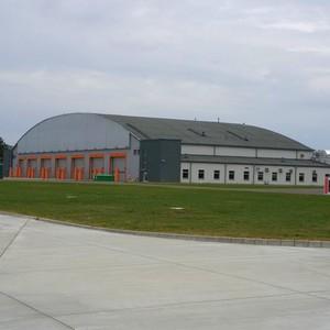 merx budowa hangaru